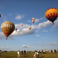 Провожая воздушные шары :: Ксения Черных