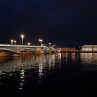 СПб. Благовещенский мост и Академия художеств. :: Евгений Никифоров