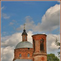 Церковь Богоявления Господня в Парфеново. :: Дмитрий Анцыферов