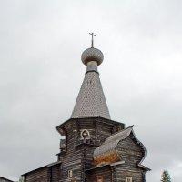 Русский Север. Село Нёнокса. Никольская церковь :: Владимир Шибинский