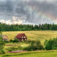 Уходящий дождик :: Андрей Куприянов
