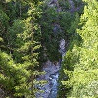 Река в теснине гор :: Анатолий Иргл
