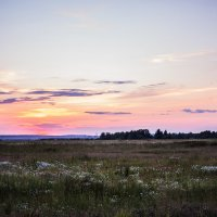 Летний закат :: Мария Корнилова