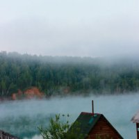 Утро на голубом озере :: Любовь Вящикова