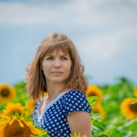 В подсолнухах :: Юлия Галиева