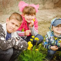 Детки-цветы жизни!!! :: Ольга Егорова