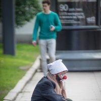 Грустный клоун :: Sasha Bobkov