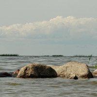 Камни и горизонт. :: Владимир Гилясев