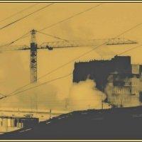Индустриальный пейзаж :: Григорий Кучушев