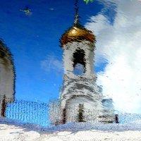 ультрамарин и золото в отражении :: Александр Прокудин