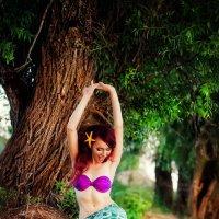 там чудеса,там леший бродит...русалка на ветвях сидит) :: Екатерина Кондратьева