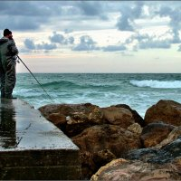 Зимняя рыбалка. :: Leonid Korenfeld