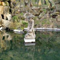 Статуя Геркулеса в Нижнем Пруду сада Кинских в Праге :: Денис Кораблёв