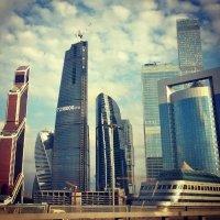 Москва Сити/ Moscow City :: Александра Барабонова