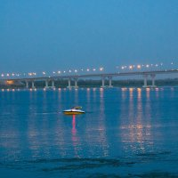 Вечер на берегу Волги :: Елена Primavera