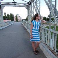 Девушка на мосту :: Canon PowerShot SX510 HS