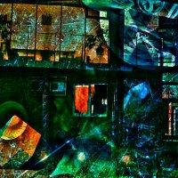 супрематический отсвет в уголках глаз. пробегая поздним вечером  мимо дома напротив :: Ирина Сивовол
