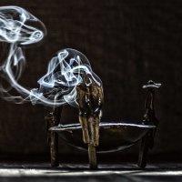 дым и бронза :: Александр