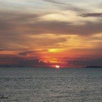 закат солнца :: Татьяна Силютина