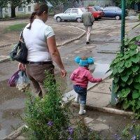 Большие и маленькие :: Нина Корешкова