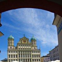 Rathaus Augsburg :: Galina Dzubina