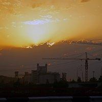 На закате. :: Марина Соколова