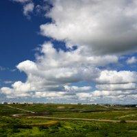 Вид на Комсомольскую шахту. :: Николай Емелин