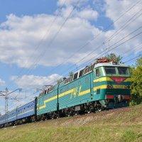 Электровоз ЧС7-046 :: Денис Змеев