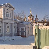 Митрополичий дворик . Коломна :: Борис Александрович Яковлев