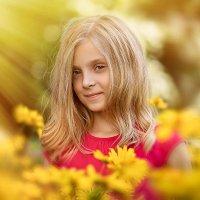 Солнечная девочка :: Ирина Иоффе