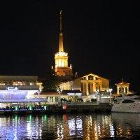 морской порт Сочи вечером :: valeriy khlopunov