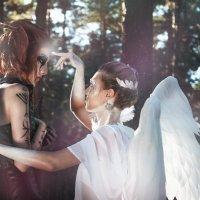 Белый ангел. Очищение :: Мария Дергунова