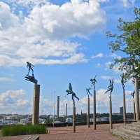 парк статуй  - Миллесгарден :: Елена