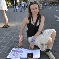 Акция - Эксперимент на Майдане Независимости в Киеве :: Андрей Игнатчик