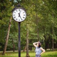 ♥ Анютка в Лошицком парке, Минск 07.2015 ♥ :: Alex Lipchansky