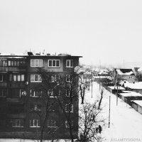 Вид из окна родного дома - лучший вид :: Евгения Ламтюгова