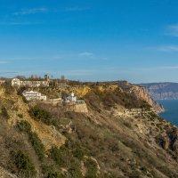 Свято-Георгиевский монастырь на Фиоленте :: Александр Пушкарёв