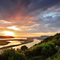 Закат над Волгой 3 :: Sergey Kuznetsov