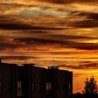 Виден рыжий хвост заката :: Анатолий Клепешнёв