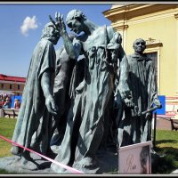 Скульптура граждане Кале 1884г. :: Вера