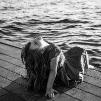 вечер у моря... :: Татьяна Бикетова