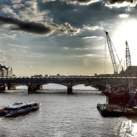Закат на реке :: SvetlanaLan .