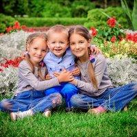 Дети-цветы жизни :: Виктория Дубровская