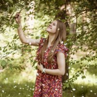 Лепестки счастья :: L.Kot Суздалев