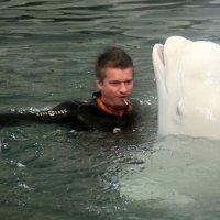 один на один и в воде :: Олег Лукьянов