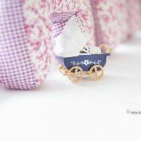 Миниатюра игрушечной  коляски :: Нина Бородина