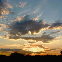 Закатное небо :: Александр Садовский