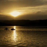 Двое на закате дня :: Наталья Джикидзе (Берёзина)