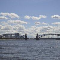 Большеохтинский мост :: Екатерина Харитонова