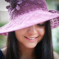 Девушка в шляпе :: Николай Малявко